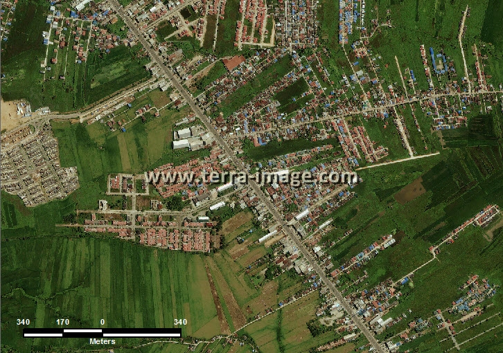 citra satelit worldview-2 natural color banjar kalimantan