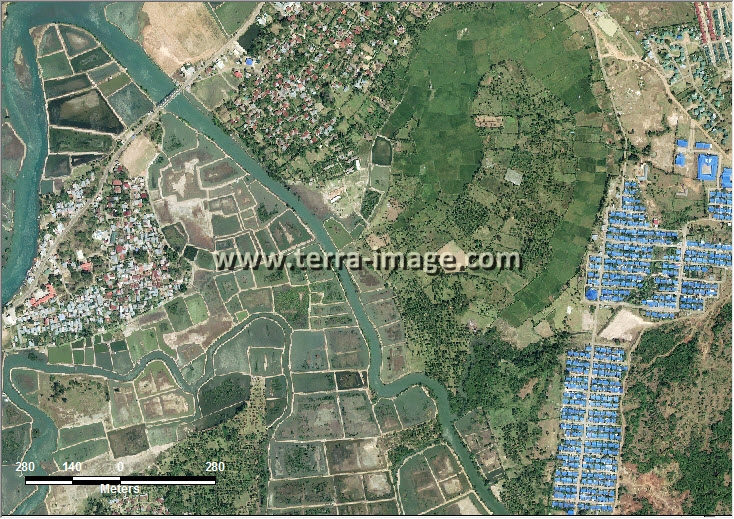 citra satelit worldview-2 aceh besar