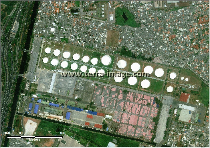 Jual citra satelit worldview-2 pumpang