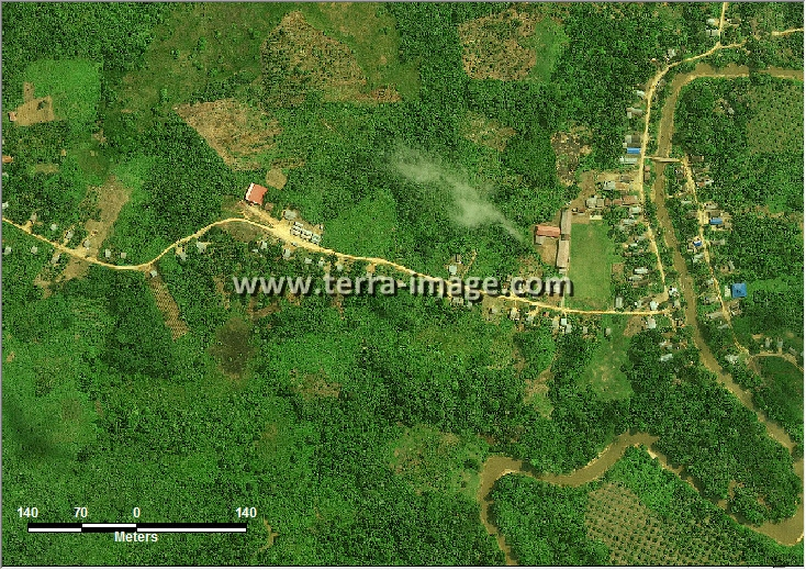 citra satelit worldview-2 natural kutai