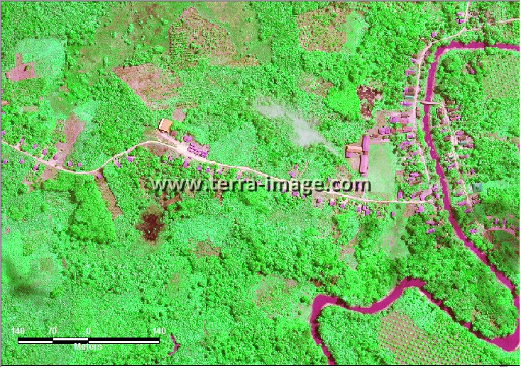 citra satelit worldview-2 green kutai