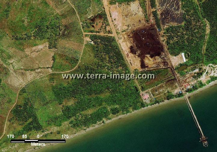 citra satelit worldview-2 natural color tanah laut