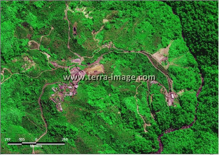 Jual citra satelit worldview-2 green tanggamus lampung