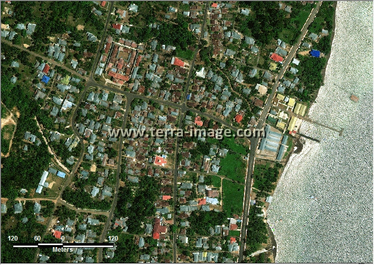 Jual citra satelit worldview-2 natural tidore