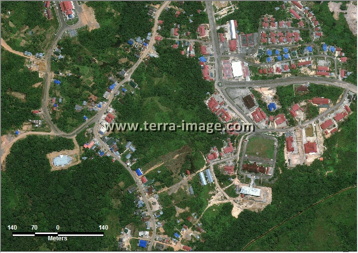 Jual citra satelit worldview-2 natural puruk cahu
