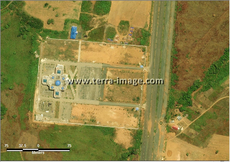 Jual citra satelit worldview-2 natural tanah bumbu