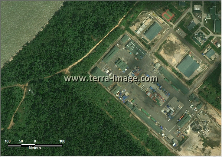 Jual citra satelit worldview-2 natural teluk bintuni