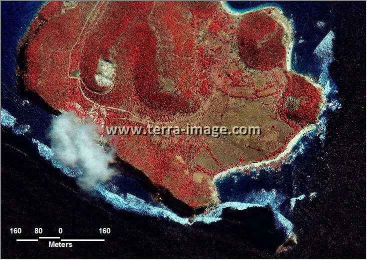 citra satelit worldview-2 red color lombok tengah