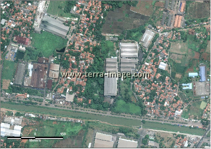citra satelit worldview-2 cibitung