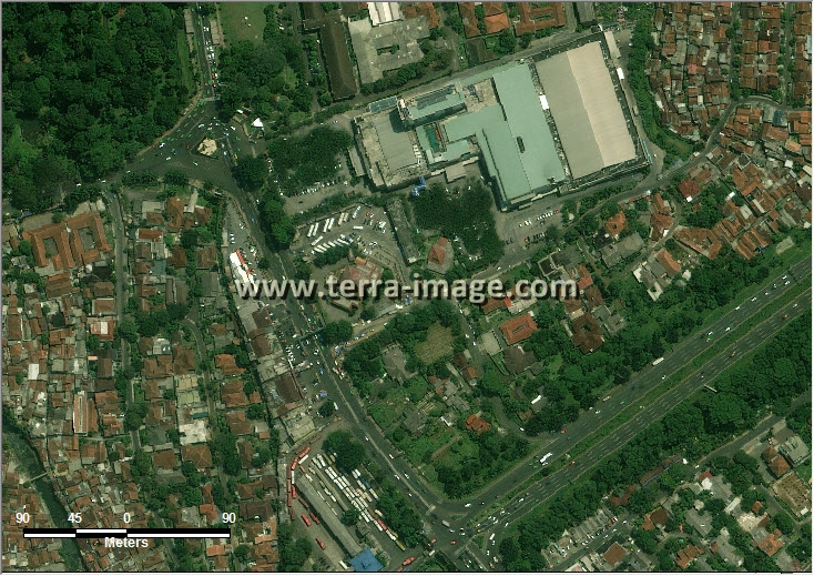 citra satelit worldview-2 ciliwung jakarta