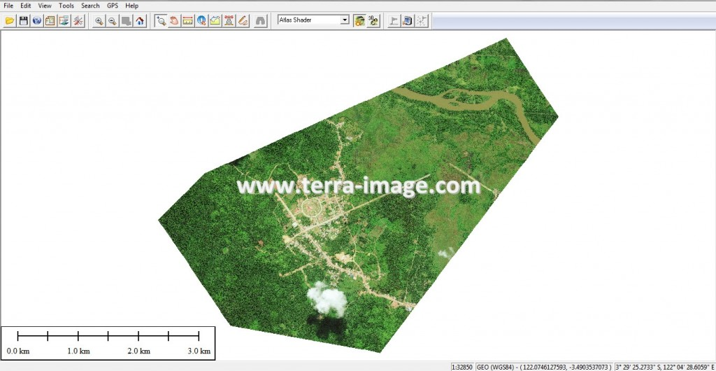 Cara Overlay Data Raster dengan Google Earth