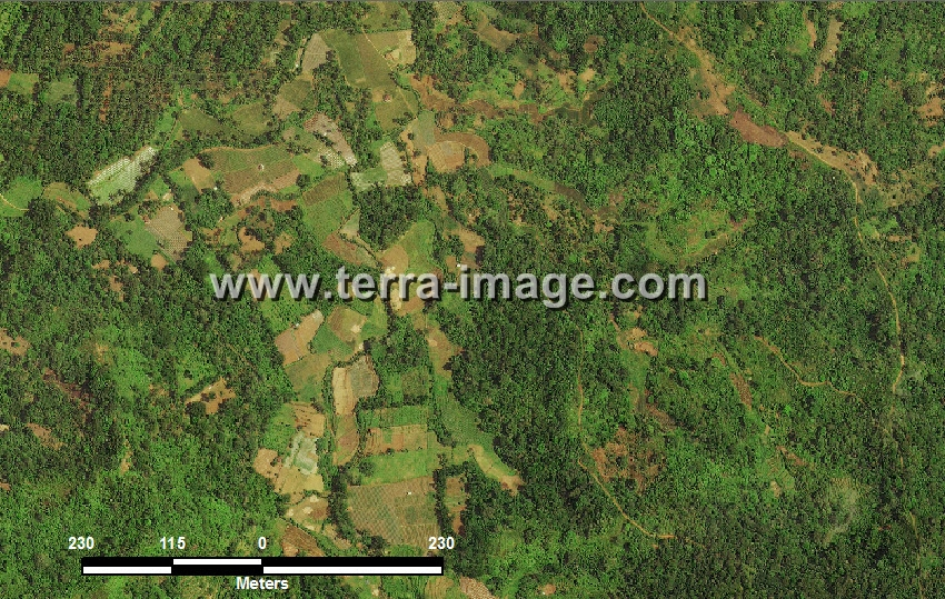 citra satelit worldview-2 natural color tanggamus lampung