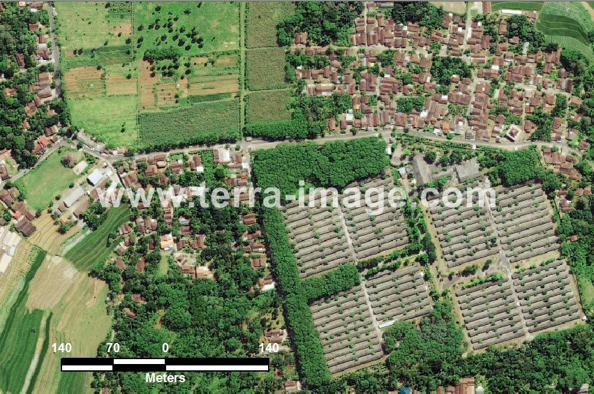 36 Limbangan WorldView-2 Natural Citra Satelit