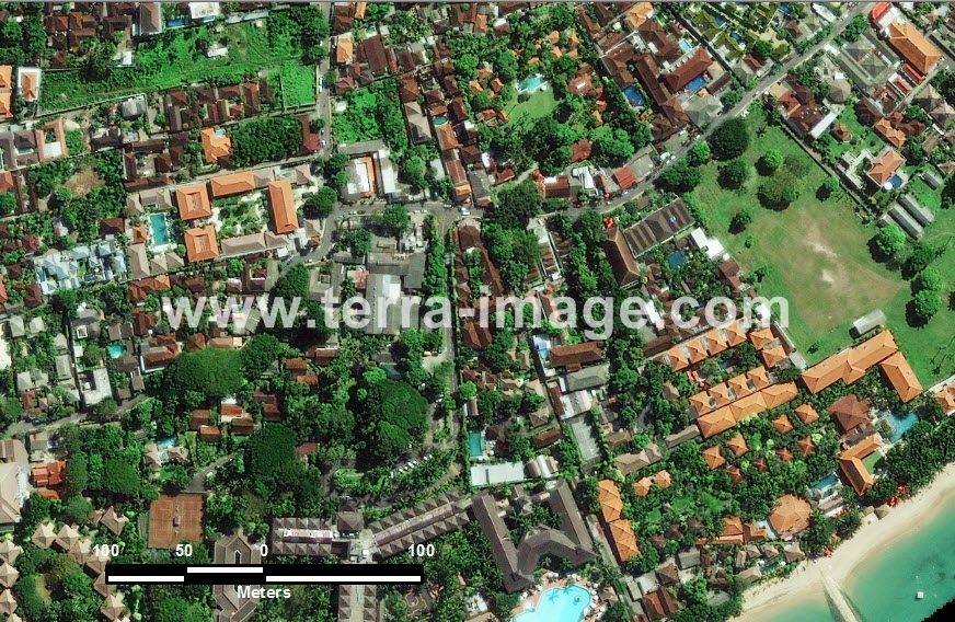 40 Denpasar GeoEye-1 Natural Color Citra Satelit_