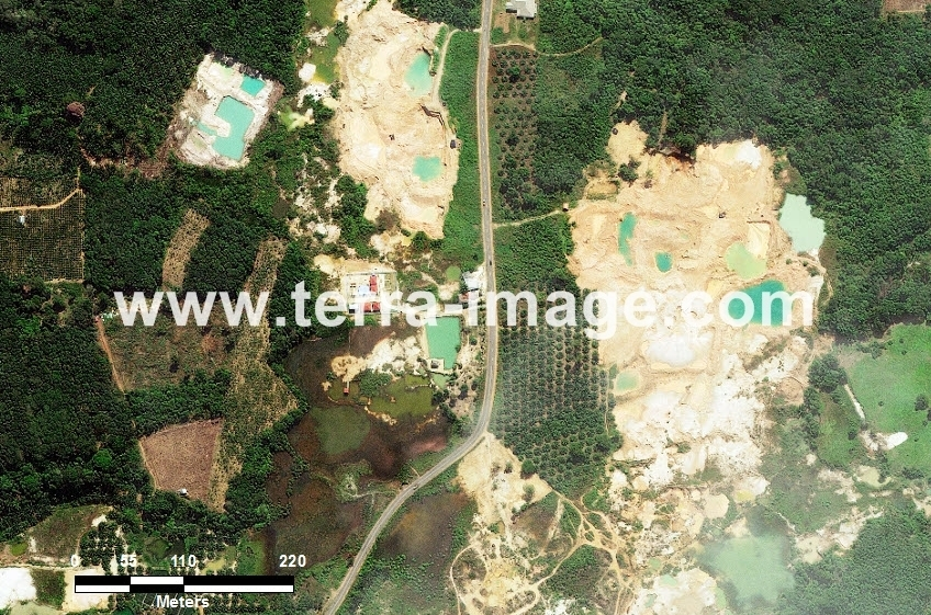 59 Pangkalpinang WorldView-2 Natural Color Foto citra satelit