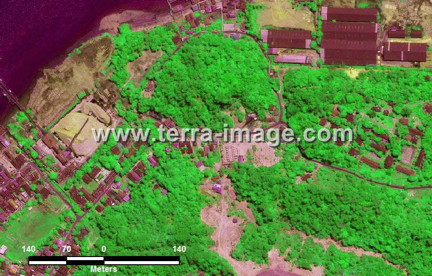 foto citra satelit green tarakan