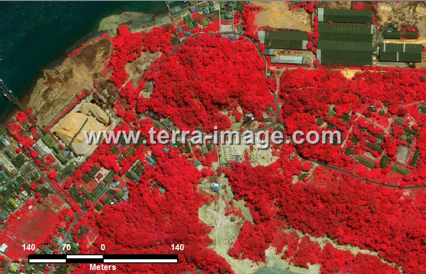 foto citra satelit red tarakan