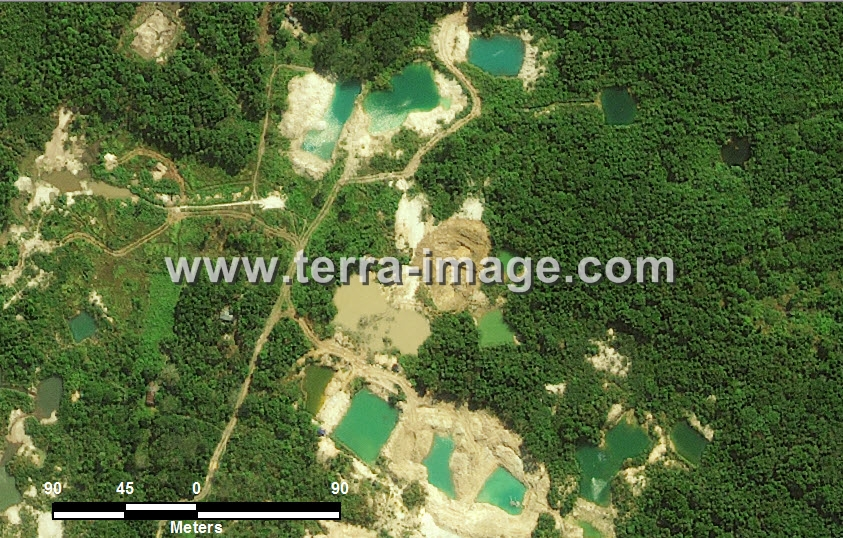 Foto Citra satelit Natural Bangka Belitung