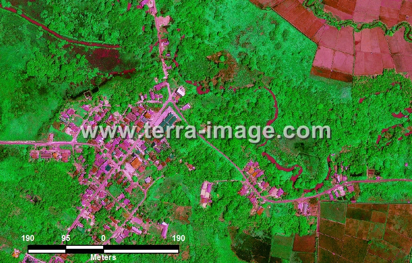foto citra satelit green kutai