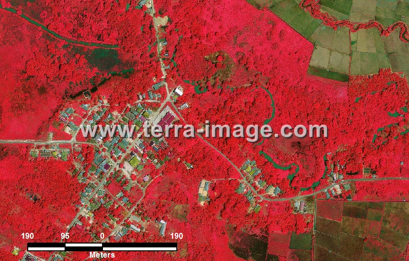foto citra satelit red kutai