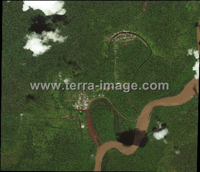 Pengolahan Data Citra Satelit WorldView-2 hasil mosaic