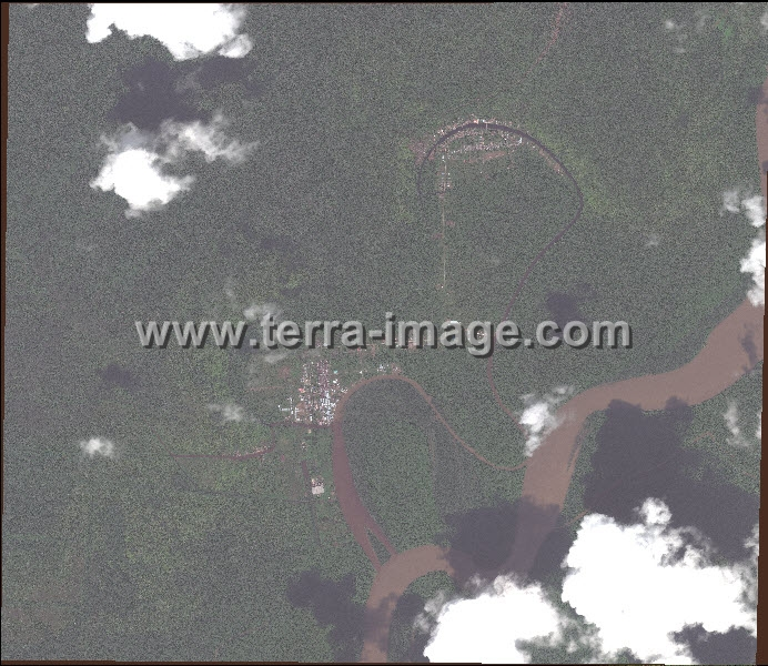 Pengolahan Data Citra Satelit WorldView-2 raw data