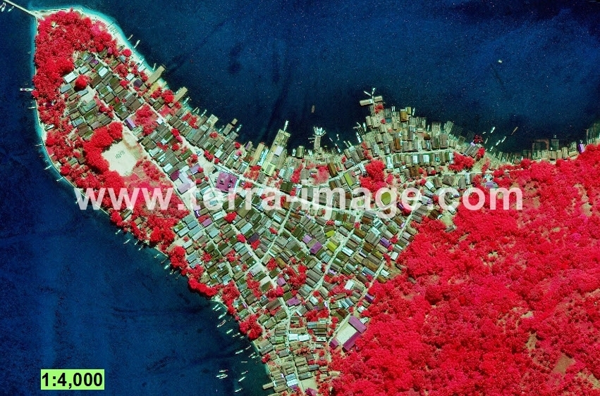 05 WorldView-2 Kotabaru Red foto satelit