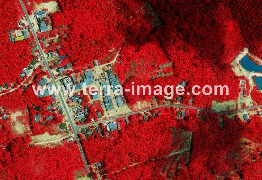 16 WorldView-2 Red Pelelawan foto satelit