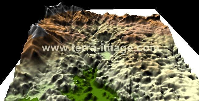 Shadded Terrain 3D