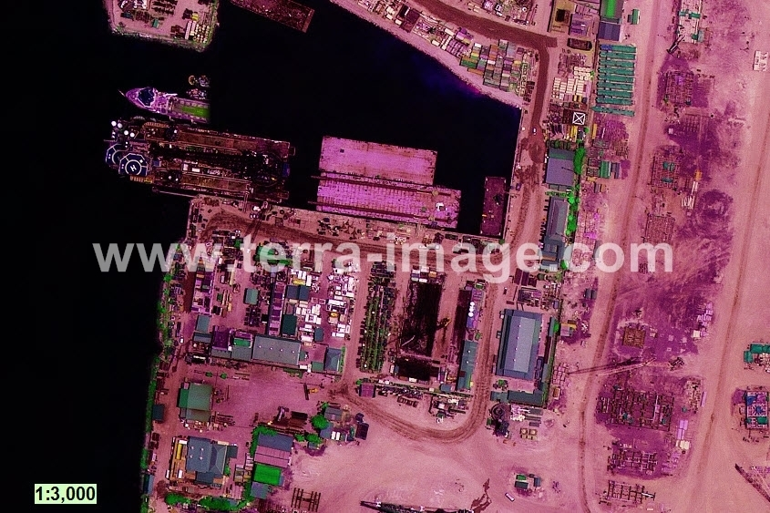 02 WorldView-2 Green Batam citra satelit